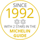 2 stars in the Michelin guide for 24 years